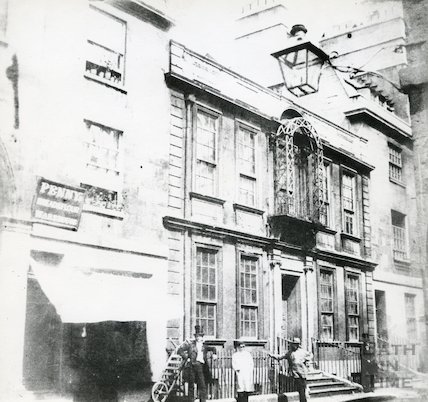 General Wolfe's House, Trim Street c.1850