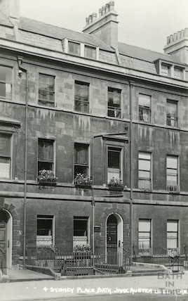 Jane Austen's House, 4 Sydney Place c.1930