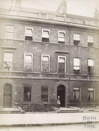Jane Austen's House, 4 Sydney Place c.1890 - 1910