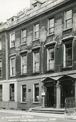House of Admiral Lord Nelson, 2 Pierrepont Street c.1930