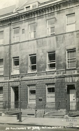 36 Pulteney Street, William Wilberforce's House