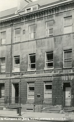 36 Pulteney Street, William Wilberforce's House c.1930