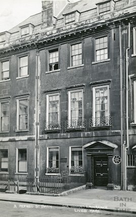 House of Sir Thomas Lawrence, 2 Alfred Street c.1930