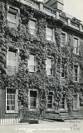House of Sir Walter Scott, 6 South Parade c.1930