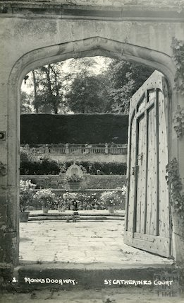 St Catherine's Court, Monk's doorway c.1930