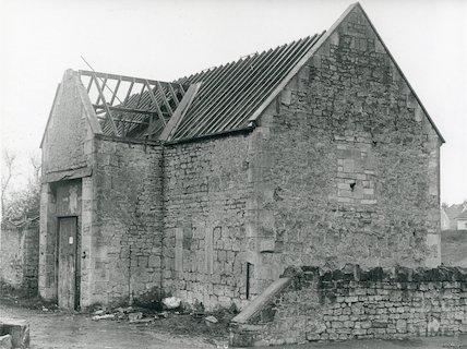 Sladebrook: Farm Barn, Englishcombe Lane 1973
