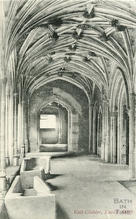 East Cloister Lacock Abbey, c.1910