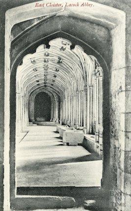 East Cloister Lacock Abbey, c.1910