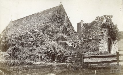Chapel at Farleigh Hungerford Castle, c.1900