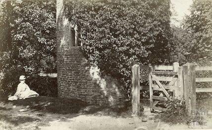 The Gatehouse at Farleigh Castle, Farleigh Hungerford, c.1900