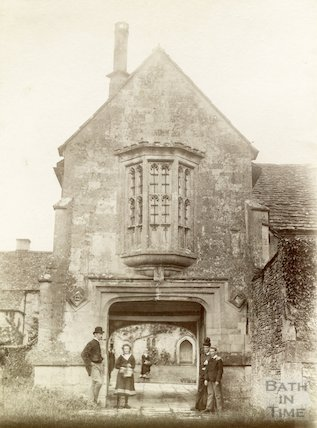 South Wraxall Manor. The gatehouse. c.1885