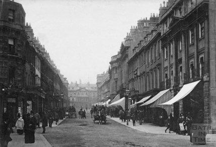 Milsom Street, Bath, c.1890s
