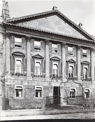 House of John Wood the Elder. 24, Queen Square, Bath c.1903