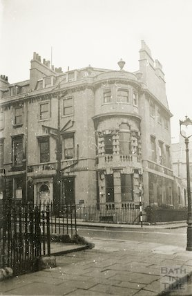 John Wood (Younger's) House. 41 Gay Street. 20 November1945