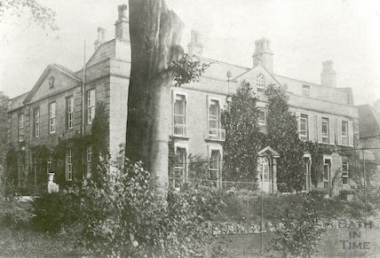 Bathford House now demolished, c.1890