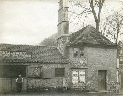 Toll House and smithy, Upper Bristol Road, Bath c.1903