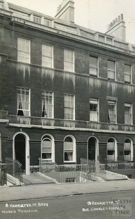 House of Moses Pickwick. 8 Henrietta St. c.1930