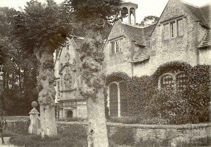Corsham Almshouses c.1890