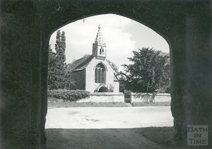 Great Chalfield Manor - Chapel 1964