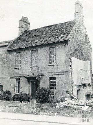 Fielding's Lodge, Twerton, c.1963