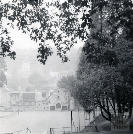 Lyncombe House ground looking north, June1964
