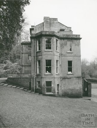 Lyncombe House, Lyncombe Vale, 30 December 1981