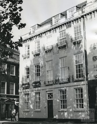 Abbey House, Abbey Green, Bath, 1967