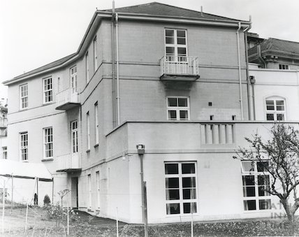 Stratton House, home for the elderly in Park Lane, Weston, 3 May 1983