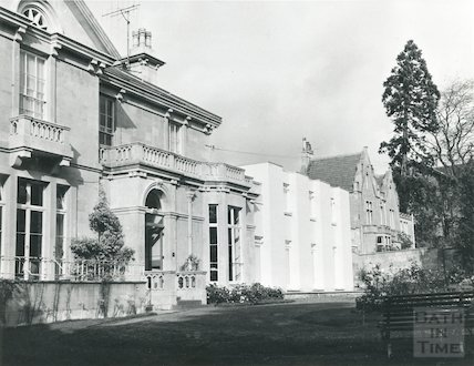 Stratton House, Park Lane, Weston, Bath, 1967