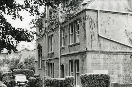 Grove House West, Weston Park, Bath c.1960s