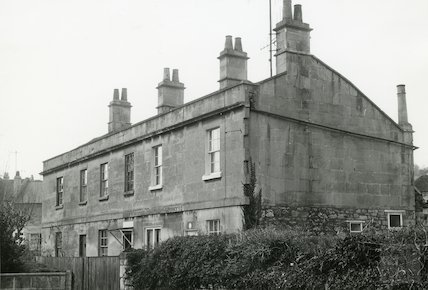 Cottage at South Side of Spa House, Lower Swainswick, 7 March 1971