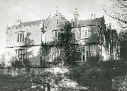The Priory, Bathwick Hill, November 1972