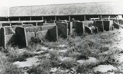 Manor Farm, Stone Cow Stalls, c.1900
