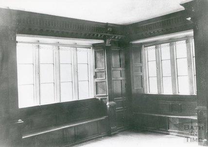 Manor Farm, Panelled Room, c.1910