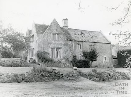 Grey House in St. Catherine's Valley near Batheaston 1983