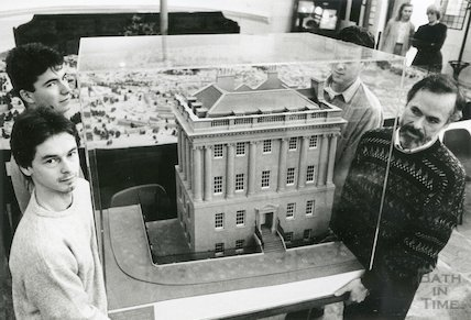 Scale model of Number One Royal Crescent, 1989