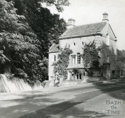 Lodge at Prior Park, Ralph Allen Drive, Bath, c.1950s