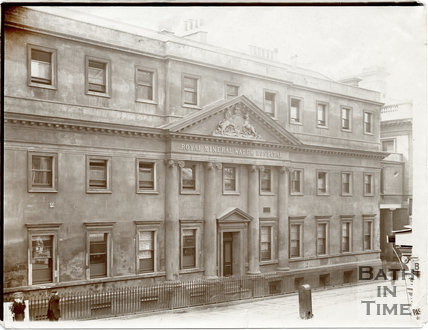 Royal Mineral Water Hospital, Upper Borough Walls, Bath c.1903