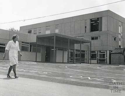 Out Patients Department, Royal United Hospital, 1969
