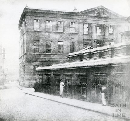 Royal United Hospital, Beau Street, 1849