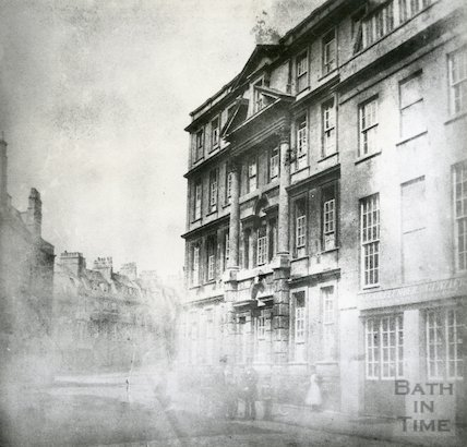 Royal United Hospital, Lower Borough Walls, 1849