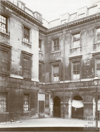 St. John's Hospital, Chapel Court, Bath c.1903