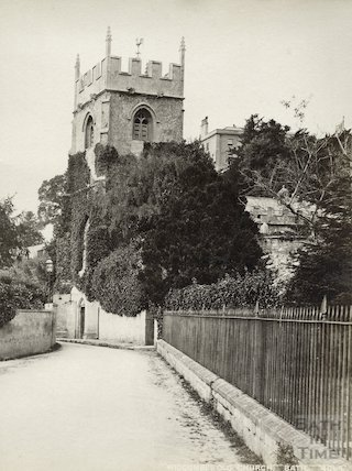 Church of St. Thomas à Becket, Widcombe, Bath c.1900