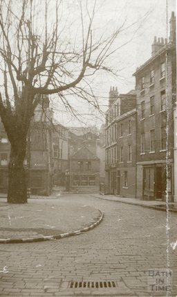 Weymouth House School - view from Abbey Green, c.1900