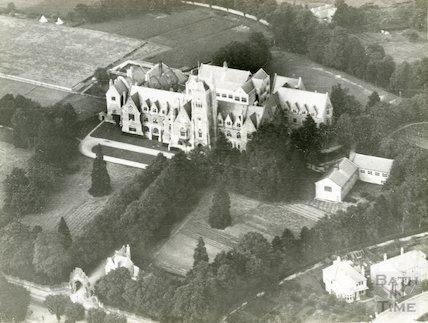 c.1930s Royal School, Lansdown - aerial view