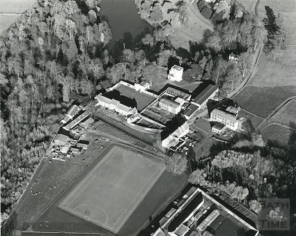 1975 Aerial view of Newton Park College