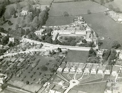 c.1930s Aerial view of the Partis College