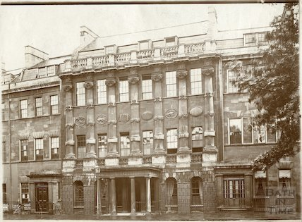 Grosvenor College for Ladies, 23, Grosvenor Place, Bath c.1903