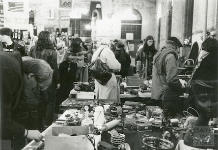 Walcot Flea Market, Tramshed, Bath, 1993