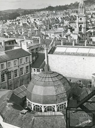 Roof of Guildhall Market 1970